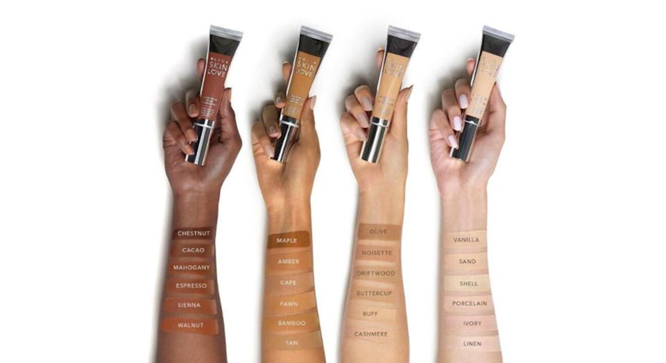 People weren't happy about this Becca cosmetics image [Photo: Becca]