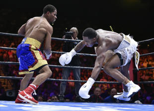 Despite a pitiful effort in a loss to Shawn Porter, Adrien Broner will get another title shot. (Getty Images)