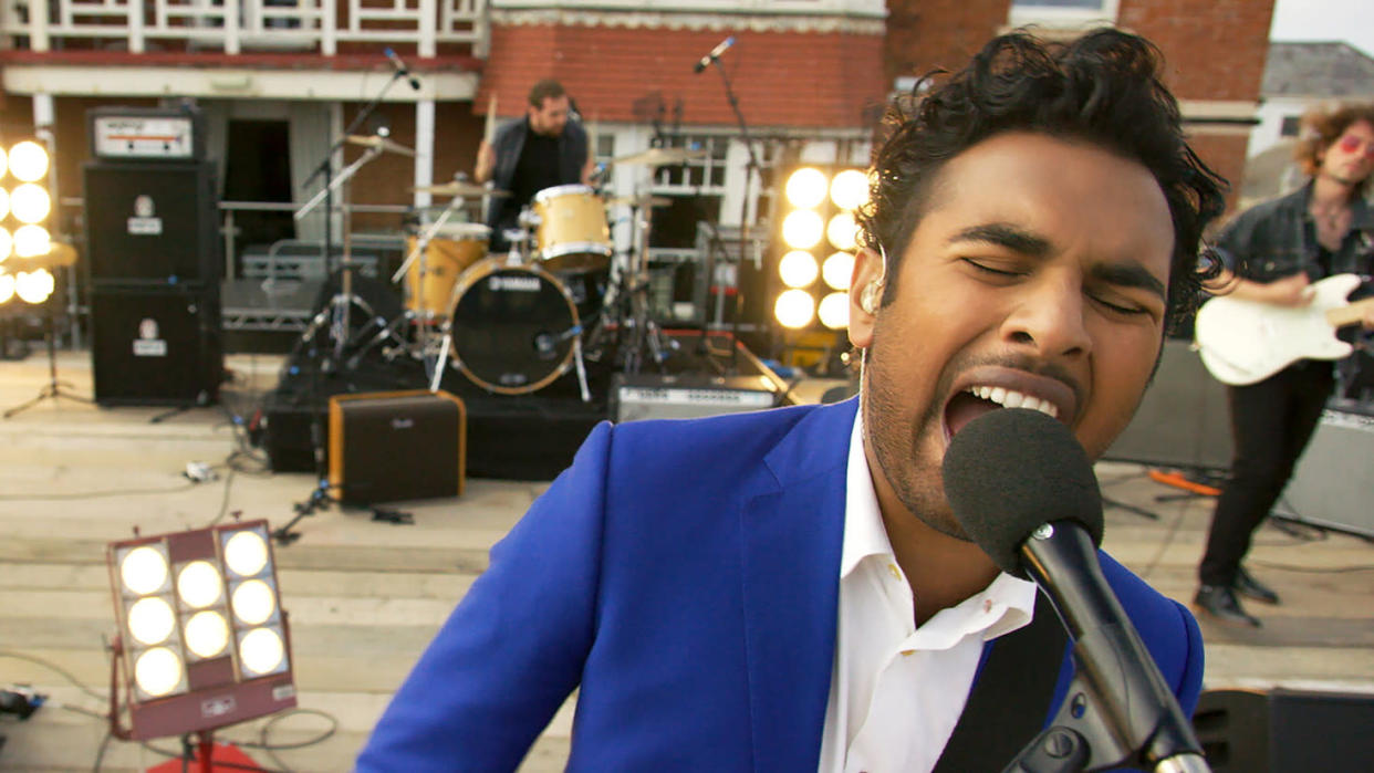 Himesh Patel was the only man who could remember The Beatles in Danny Boyle movie 'Yesterday'. (Universal)