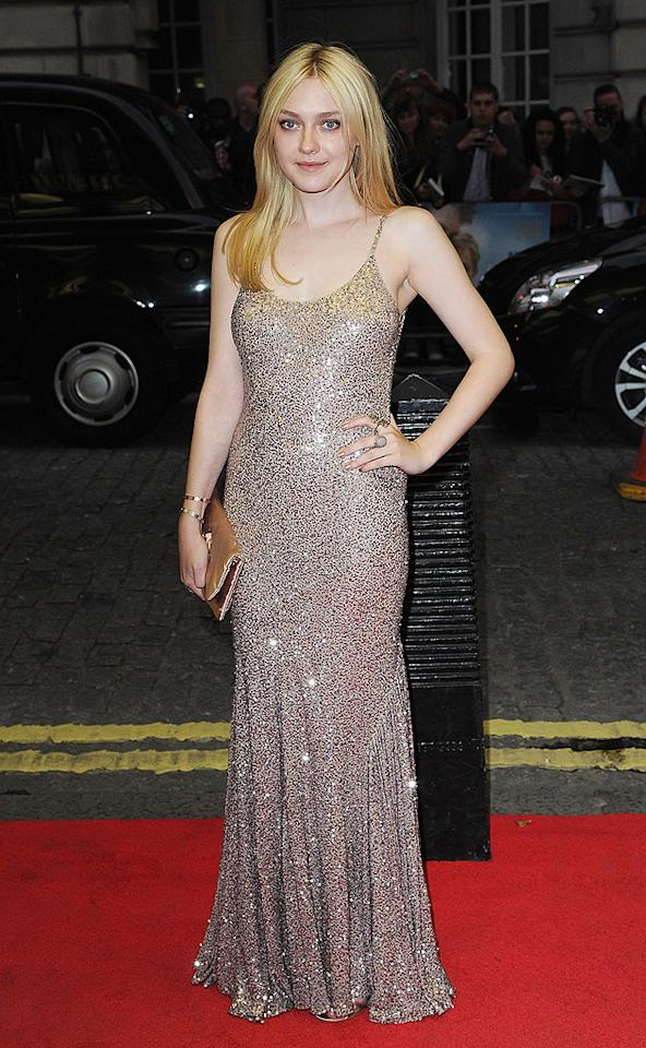 "Late last week, Dakota Fanning delivered a mature look while wearing Stella McCartney at the London premiere of ""Now Is Good."" Is this sexy, sequined number a bit too grown up for the 18 year old, or is it just right? Discuss. (9/13/2012)<br><br><a target=""_blank"" href=""http://omg.yahoo.com/photos/2-hot-2-handle-09-12-1347487336-slideshow/"">Check out last week's 2 Hot 2 Handle gallery</a>"