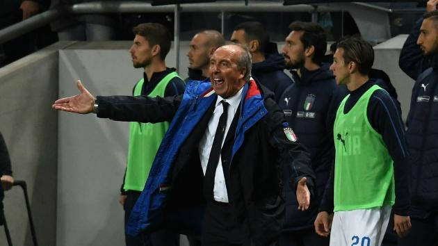 <p>Italy defeat to Sweden 'incorrect', says under-fire Ventura</p>