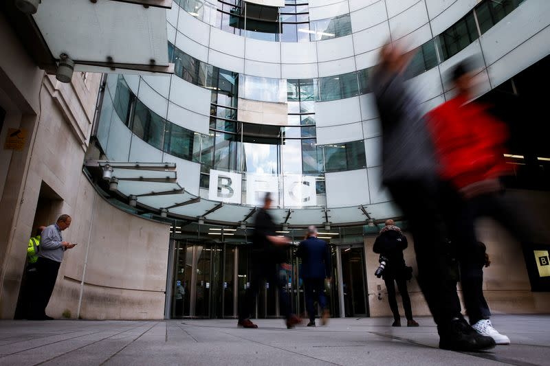 Britain's BBC announces further 70 job cuts in news operation
