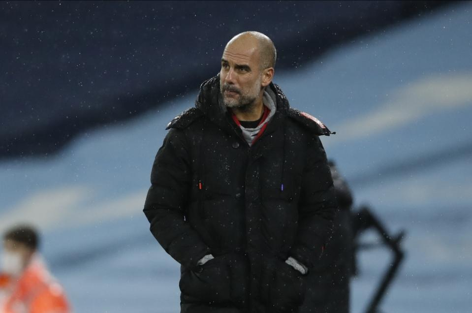 If Lionel Messi left Barcelona for Manchester City, he'd set up a reunion with manager Pep Guardiola, not to mention pave the way for playing in the United States late in his career. (Clive Brunskill/ Pool via AP)