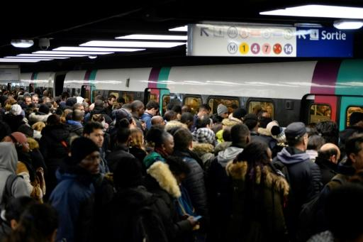 Paris has been hard hit by the transport strikes