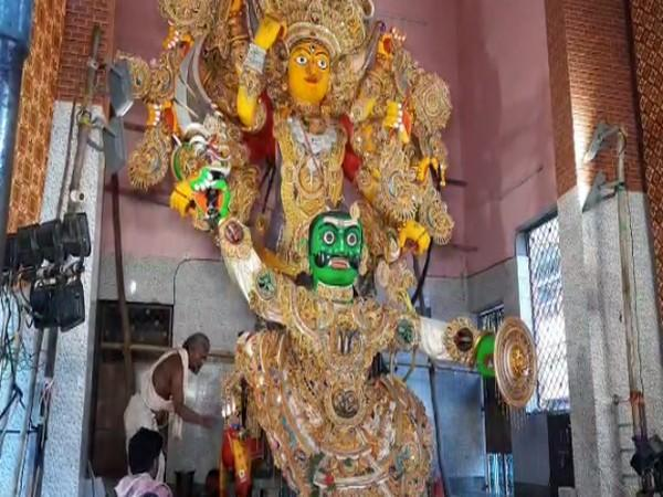 Naga idol displayed in Puri during Gosani Yatra (Photo/ANI)