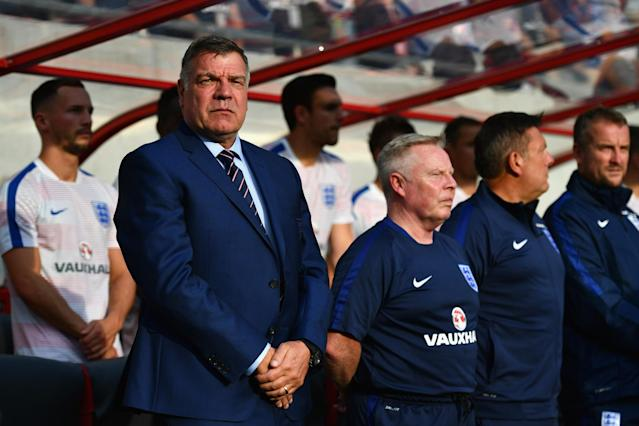 'Jealous' Sam Allardyce still hurting as Gareth Southgate leads England to Russia