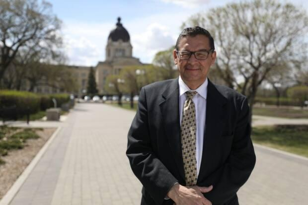 Former Opposition NDP MLA Buckley Belanger won't return to the provincial legislature after placing second in his bid for a federal riding in northern Saskatchewan.  (Matt Duguid/CBC - image credit)