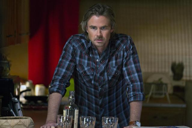 "Sam Trammell in the ""True Blood"" Season 6 episode, ""Dead Meat."""