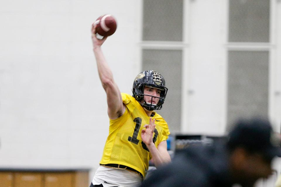 Purdue quarterback Jack Plummer doesn't have a ton of experience, but he has more than his counterparts.