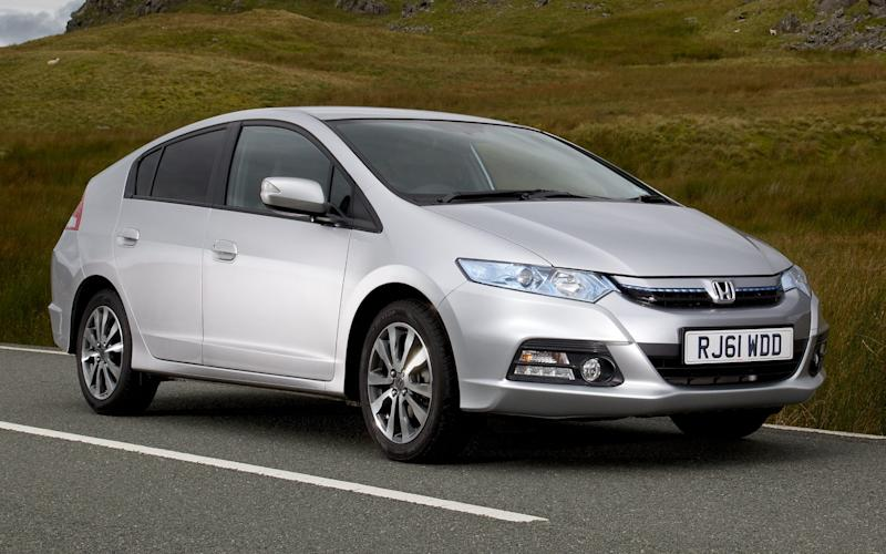 Which hybrid provides easier access than a Honda Insight?