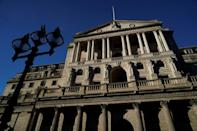 The Bank of England forecasts that inflation could top 4.0 percent in the final quarter of this year (AFP/Niklas HALLE'N)