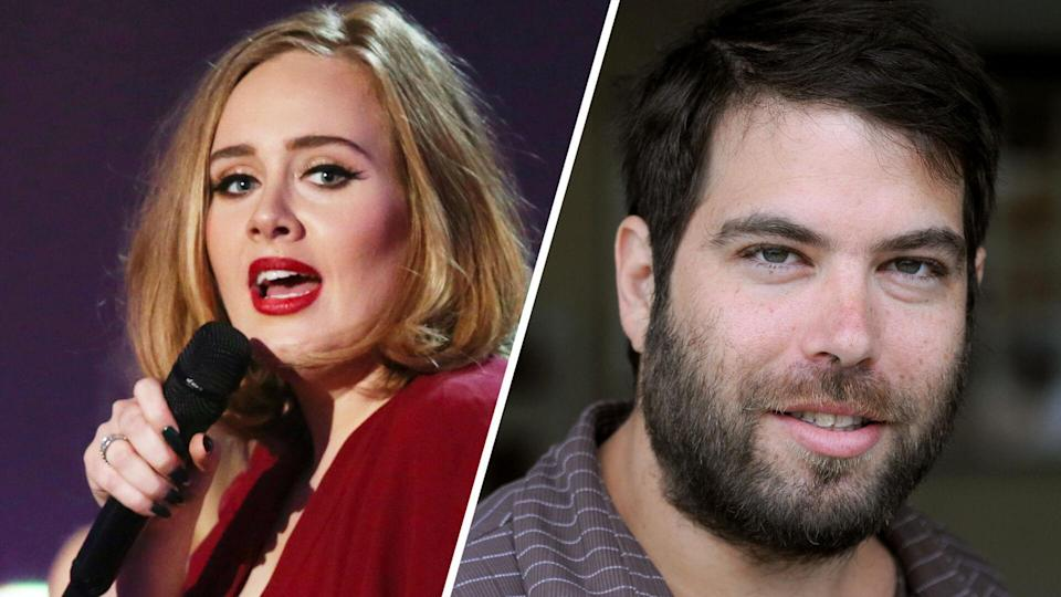 Adele and Simon Konecki divorce celebrities