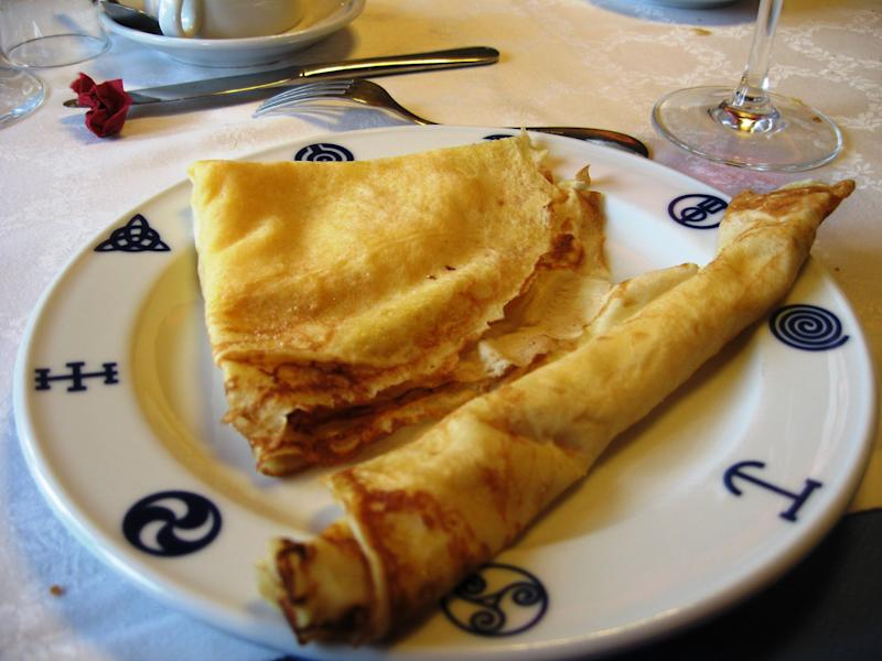 Galicia, León and Asturias typical dessert whose basic ingredients are flour, water or stock or milk and optionally eggs.