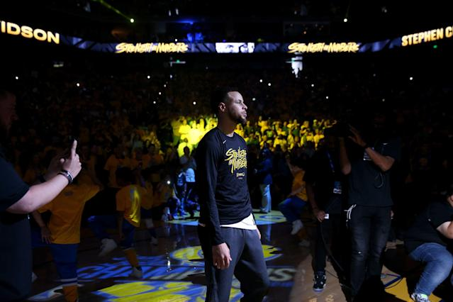 The Warriors will be moving into a new arena in San Francisco next season. (Photo by Ezra Shaw/Getty Images)