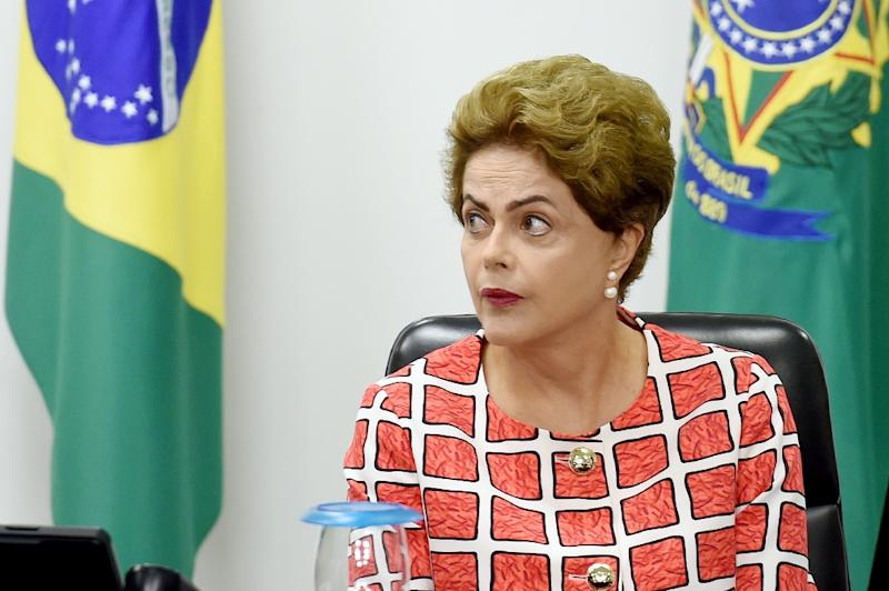 Brazilian President Dilma Rousseff will attend the UN Climate Conference - COP21 - in Paris, where host of the summit, French Foreign Minister Laurent Fabius, has said he was counting on Brazil to help seal a global pact (AFP Photo/Evaristo Sa)