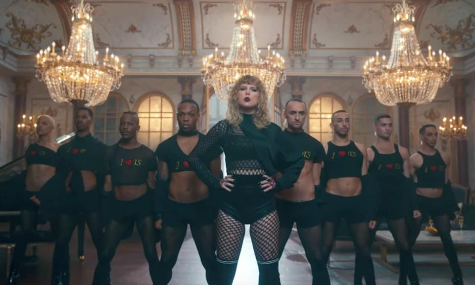 Fans believe this shot was mimicking Beyoncé's Formation video