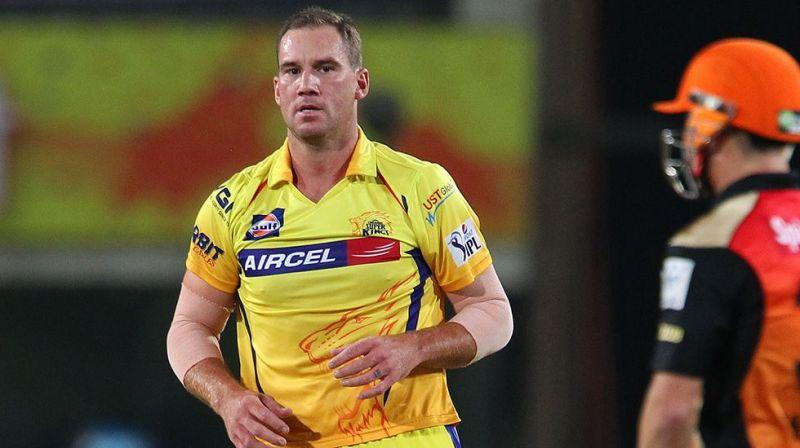 John Hastings debut game was against Sunrisers Hyderabad in 2014