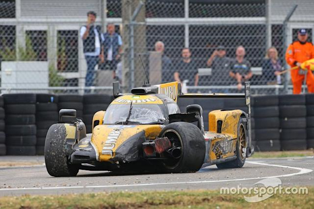 "Accidente del #29 Racing Team Nederland Dallara P217: Nyck de Vries <span class=""copyright"">Geert Franquet </span>"