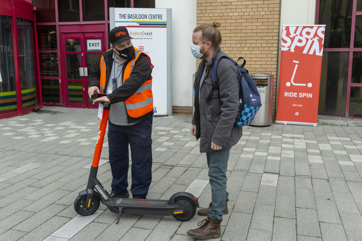 Ford e-scooters