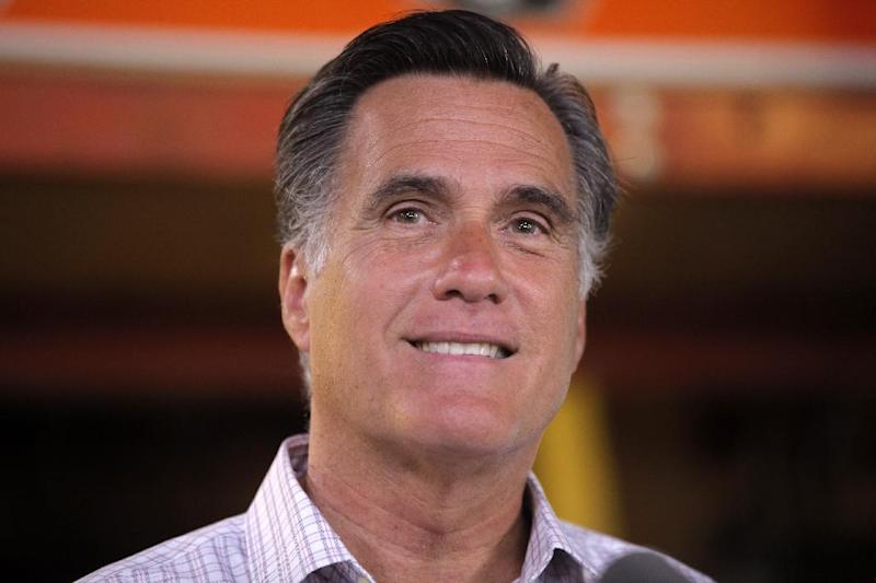 Republican presidential candidate, former Massachusetts Gov. Mitt Romney speaks about job numbers, Friday, July 6, 2012, at Bradley's Hardware in Wolfeboro, N.H. (AP Photo/Charles Dharapak)