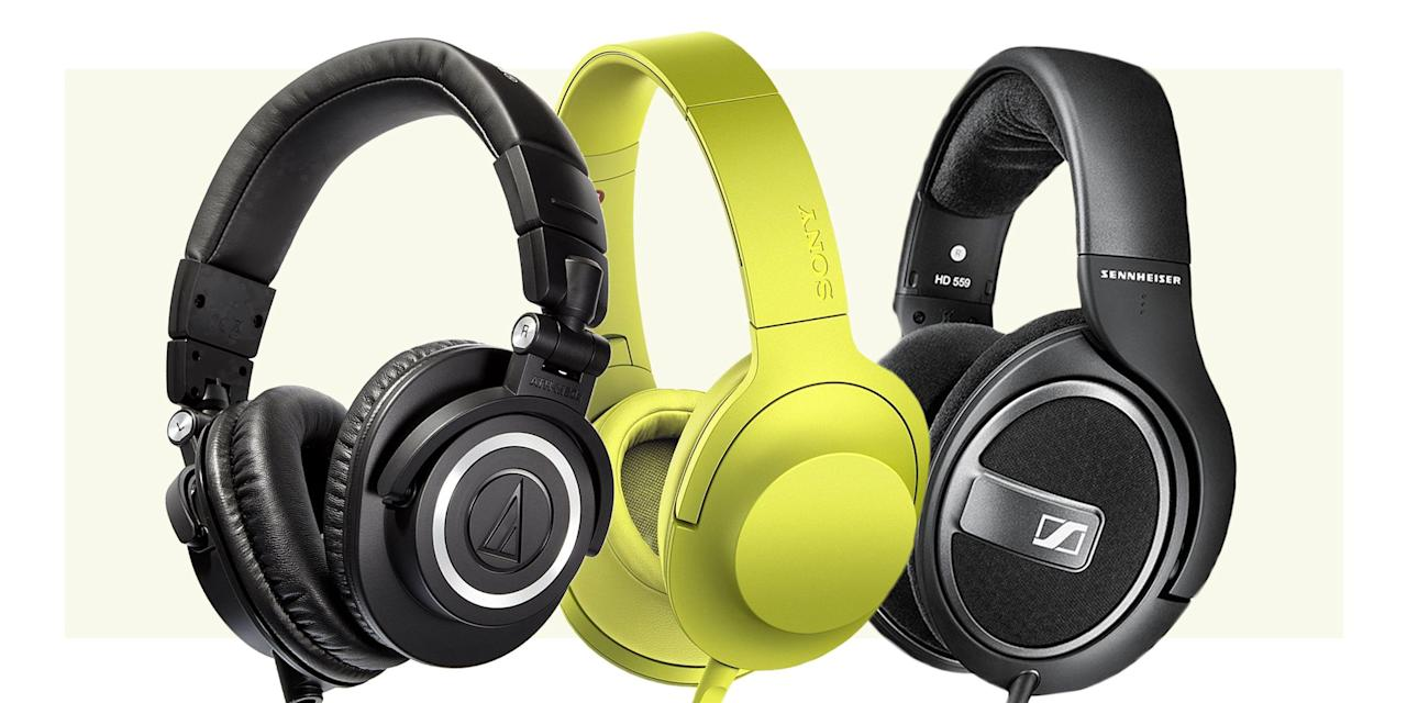 <p>When shopping for over-ear headphones, it's important to consider how you plan to use them. Some of our keenly priced suggestions are better suited for home or desktop use, as they feature long cables with no inline microphone. Quality over-ear headphones with more versatility, on the other hand, typically carry a price premium. Shop our top picks, below.</p>