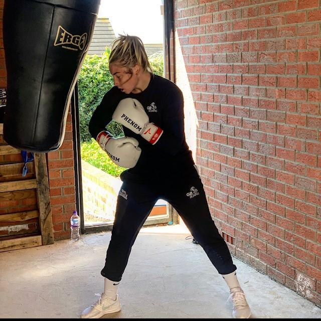 Price trains in Sheffield full-time with the National Lottery-funded GB Boxing programme (Picture: Point Communications)