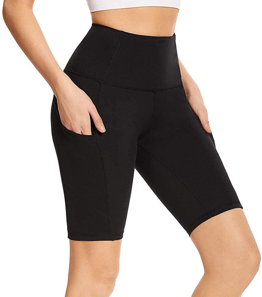 <p>We're loving these <span>Biker Shorts with Pockets</span> ($12) that are high waisted and stretchy. It's perfect for workouts, running errands, and looking chic for the summer.</p>