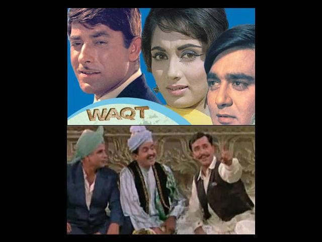 <b>3. Waqt </b><br>Once again, one may wonder why this 1965 multi-starrer makes it to our top 5 list. For starters it brings back the nostalgia of a bygone era and though it was definitely not set in the backdrop of a wedding, this movie gave us the eternal 'Aye meri zohra zabin', the song which inevitably makes it to every Sangeet night. I've seen the shiest of the elderly shake a leg in Sangeet nights with just the right amount of coaxing to go with the beats of this timeless musical number.