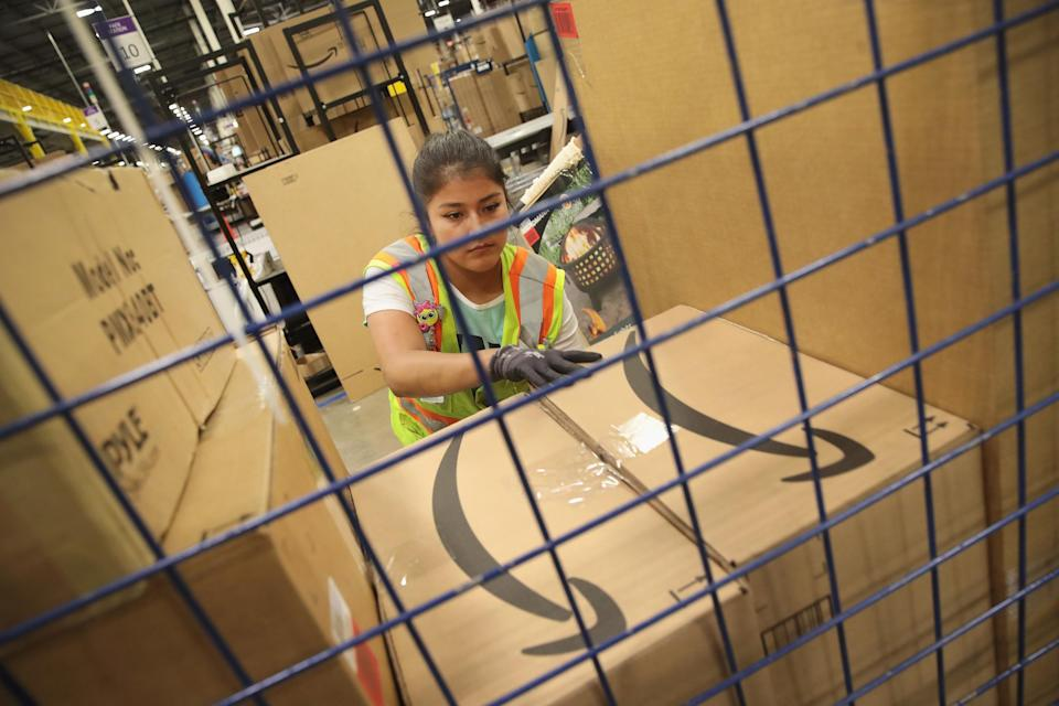 Not everyone at Amazon is happy about the wage increase. (photo credit/Time)