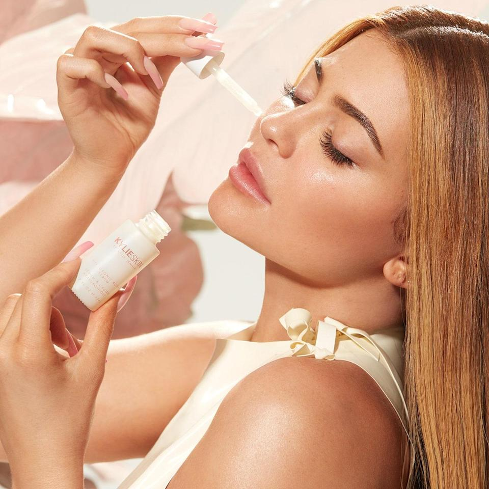 """<p>Despite being nearly two decades her junior, Kylie Jenner beat big sister Kim Kardashian to the makeup game by several years and, in the process, established herself as one of the biggest names in the beauty industry. Even people with zero interest in beauty (yes, they're out there) know what Kylie Cosmetics is, and may even be able to identify the <a href=""""https://www.allure.com/story/kylie-jenner-accused-of-repacking-old-lip-kit-shade-spice-as-new?mbid=synd_yahoo_rss"""" rel=""""nofollow noopener"""" target=""""_blank"""" data-ylk=""""slk:Lip Kits"""" class=""""link rapid-noclick-resp"""">Lip Kits</a> that put the company on the makeup map. And it wasn't long after she expanded her empire with Kylie Skin that Jenner was officially <a href=""""https://www.allure.com/story/kylie-jenner-self-made-billionaire-forbes-reactions-criticism?mbid=synd_yahoo_rss"""" rel=""""nofollow noopener"""" target=""""_blank"""" data-ylk=""""slk:declared a billionaire"""" class=""""link rapid-noclick-resp"""">declared a billionaire</a>. In other words, there's a decent chance you've purchased one of Kylie Jenner's products, but you shouldn't worry about her financial well-being if you don't.</p> <p>Star product: The <a href=""""https://shop-links.co/1747585609504957754"""" rel=""""nofollow noopener"""" target=""""_blank"""" data-ylk=""""slk:Lip Kits"""" class=""""link rapid-noclick-resp"""">Lip Kits</a> ($29 each), obviously. And with the <a href=""""https://www.allure.com/story/kylie-cosmetics-kylie-skin-relaunch-vegan-clean?mbid=synd_yahoo_rss"""" rel=""""nofollow noopener"""" target=""""_blank"""" data-ylk=""""slk:recent reformulation"""" class=""""link rapid-noclick-resp"""">recent reformulation</a> of them — and every other product in the Kylie Cosmetics line — each liquid shade and pencil combo now counts as clean by <a href=""""https://www.allure.com/story/allure-clean-beauty-seal?mbid=synd_yahoo_rss"""" rel=""""nofollow noopener"""" target=""""_blank"""" data-ylk=""""slk:Allure's standards"""" class=""""link rapid-noclick-resp""""><em>Allure</em>'s standards</a>. </p>"""