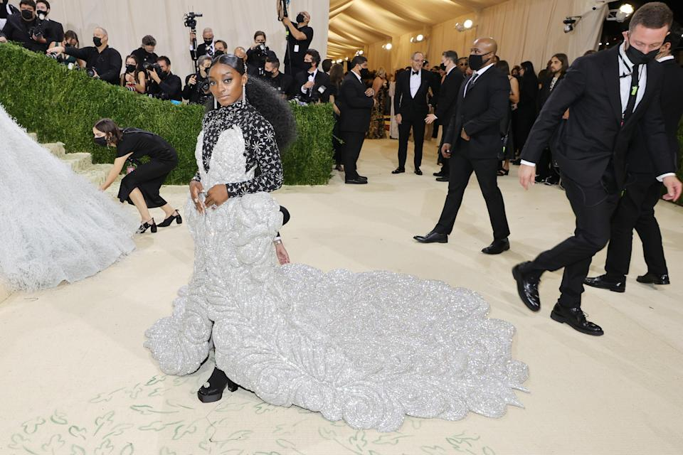 """<h1 class=""""title"""">Simone Biles, The 2021 Met Gala Celebrating In America: A Lexicon Of Fashion - Arrivals</h1><cite class=""""credit"""">Getty</cite>"""