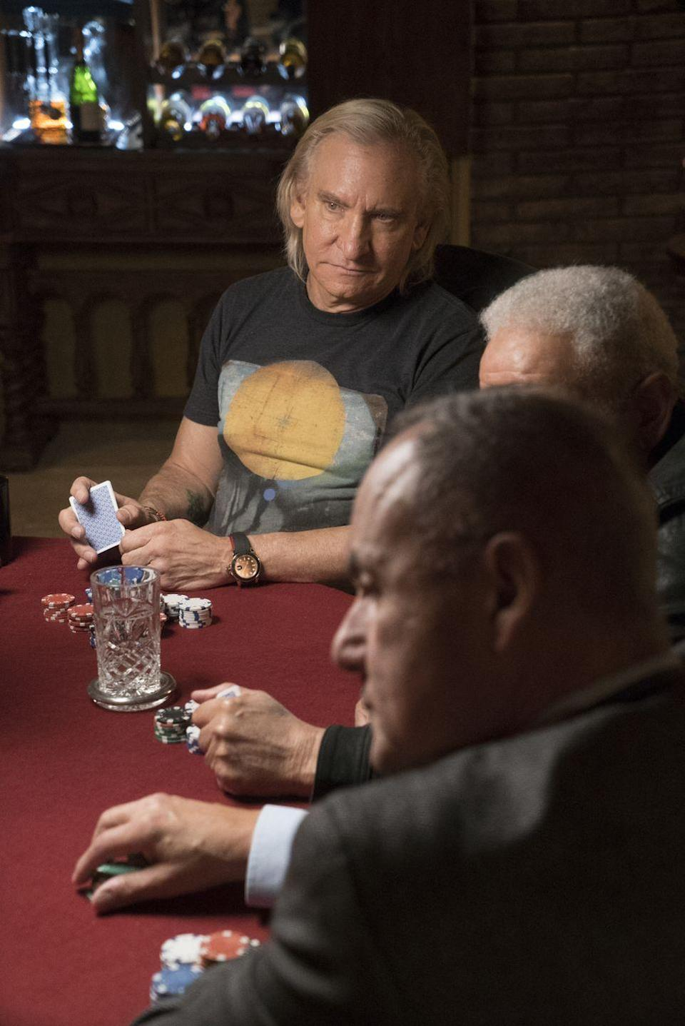 <p>Also at that poker game? Joe Walsh, guitarist and singer of <em>The Eagles</em>, was also holding down a seat at the table. Again, to be part of whatever magic brought this particular group of people together for a few hands. </p>