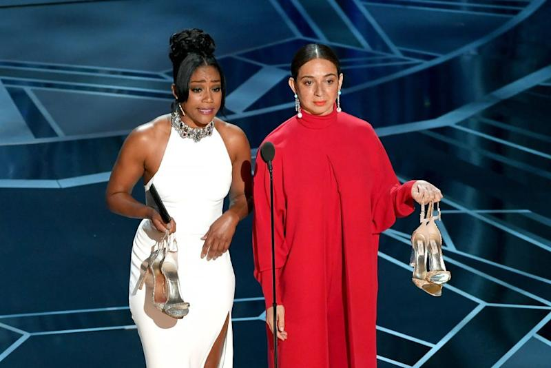 Tiffany Haddish and Maya Rudolph
