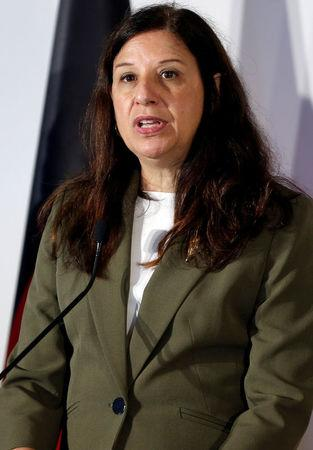 U.S. Acting Secretary of the Department of Homeland security Elaine Duke speaks during the news conference at the end of the G7 Interior Ministers meeting at the Ischia island, Italy October 20, 2017. REUTERS/Ciro De Luca/Files