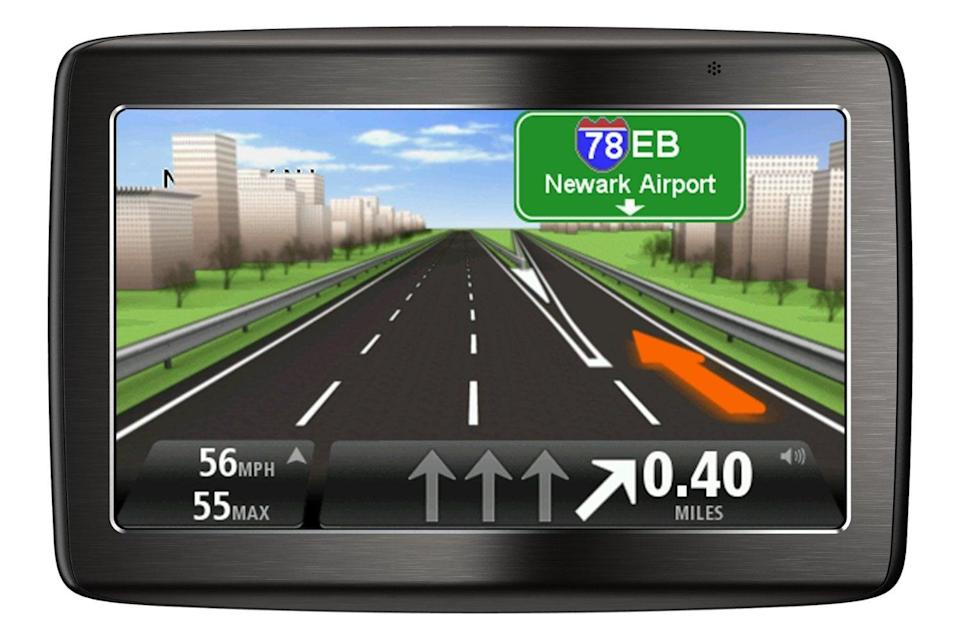 <p>The <span>TomTom 5-Inch Bluetooth GPS Navigator</span> ($125) is hands-free, offers voice recognition, and can even give him traffic updates. </p>