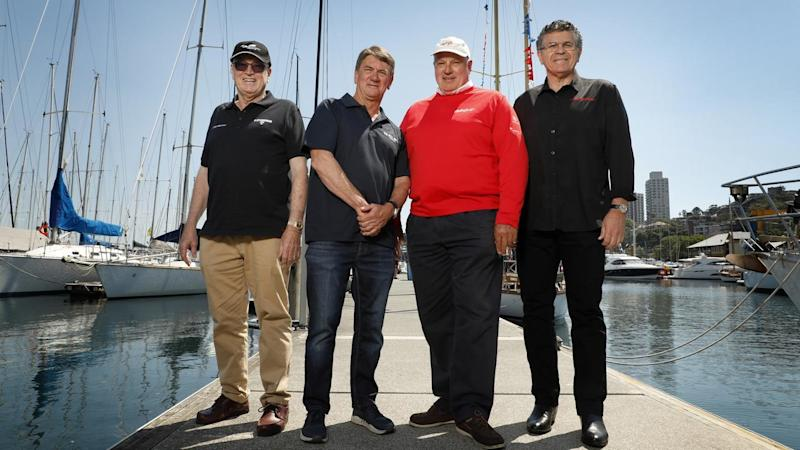 SYDNEY TO HOBART YACHT RACE LAUNCH