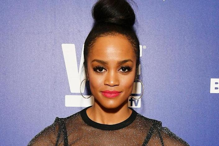 Rachel Lindsay on 13 March 2019 in New York City: Dia Dipasupil/Getty Images for WEtv