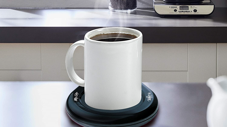 Drink hot tea or coffee at your own leisure with this clever mug warmer.