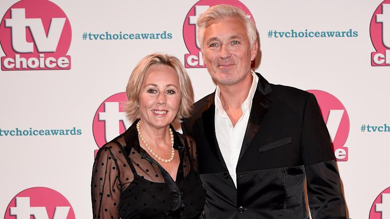 Shirlie Kemp and Martin Kemp attend The TV Choice Awards 2019 at Hilton Park Lane
