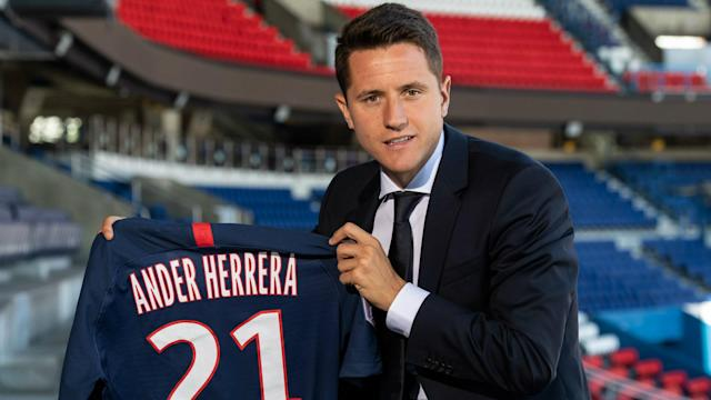 Ander Herrera Paris Saint-Germain transfer announcement 2019