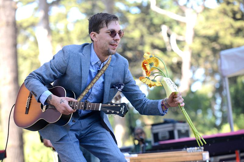 SAN FRANCISCO, CA - OCTOBER 07: Singer Justin Townes Earle performs onstage during the Hardly Strictly Bluegrass music festival at Golden Gate Park on October 7, 2017 in San Francisco, California. (Photo by Scott Dudelson/Getty Images)