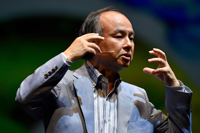 """SoftBank wants big stake in Uber, but at steep discount"""""""