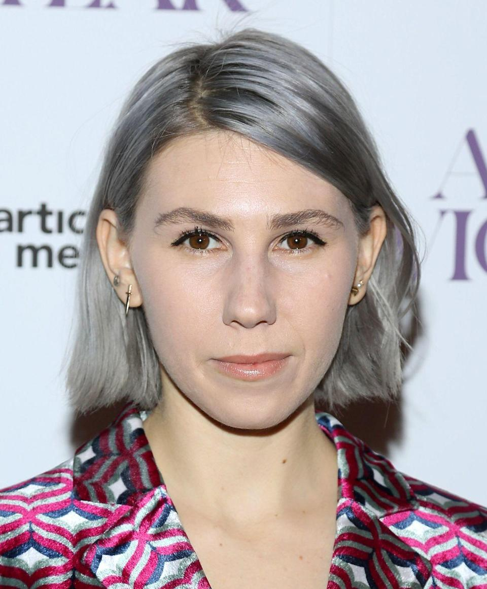 <p>Silver can match any complexion from Zosia Mamet's fairer skin to olive tones and darker skin tones, says Goddard. Look towards ashy tones paired with darker roots for a style that's easier to maintain, she explains. </p>