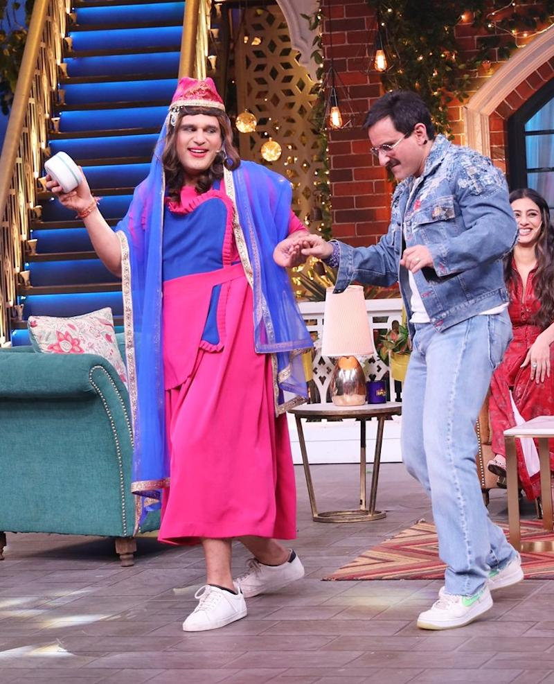 Saif Ali Khan on The Kapil SHarMA SHOW