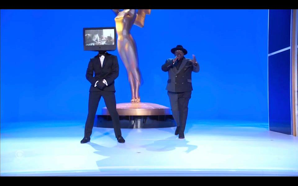 Cedric the Entertainer opens the 2021 Emmys.
