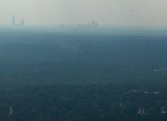 Wind Patterns Create Pollution Hotspots in Cities