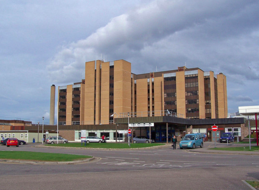 NHS Highland said on Wednesday that Raigmore Hospital in Inverness had reached capacity and declared code black status. (Wikipedia)