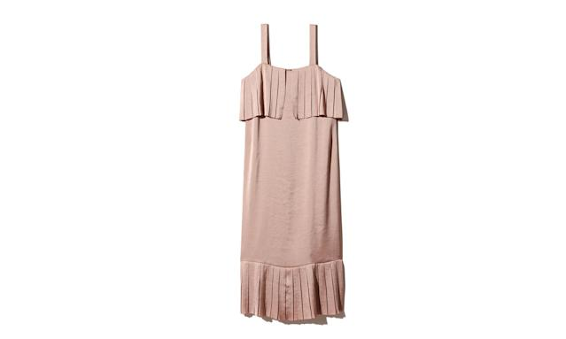 "<p>Pyrelo Dress, $188, <a href=""http://us.aritzia.com/product/pyrelo-dress/63152.html?dwvar_63152_color=12908"" rel=""nofollow noopener"" target=""_blank"" data-ylk=""slk:aritzia.com"" class=""link rapid-noclick-resp"">aritzia.com</a> </p>"