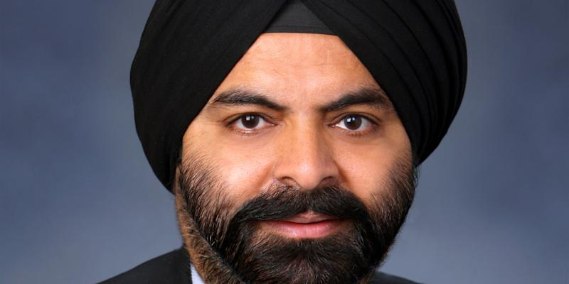 8) Ajay Banga, CEO, Mastercard. Photo: Mastercard