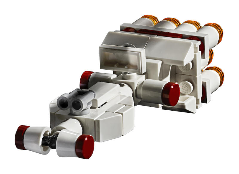 A close-up look at the Tantive IV (Photo: Lego)